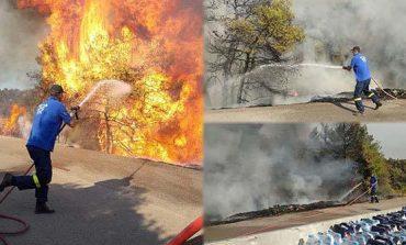 Η Πολιτική Προστασία Δήμου Βριλησσίων σβήνει φωτιές… ακόμη και στην Εύβοια