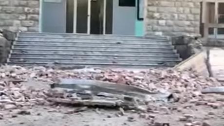 Εικόνες καταστροφής στην Αλβανία μετά τη διπλή σεισμική δόνηση