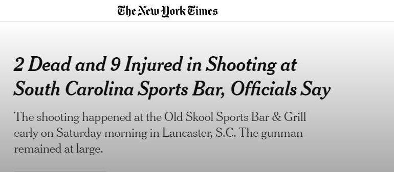 ΗΠΑ: Πυροβολισμοί σε κλαμπ – Νεκροί και τραυματίες