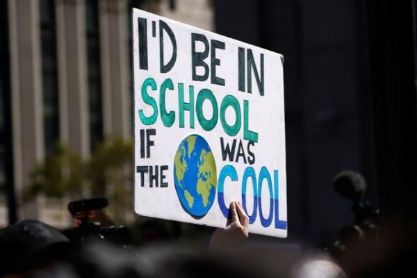 Ηχηρό μήνυμα από κάθε γωνιά του πλανήτη για την κλιματική αλλαγή