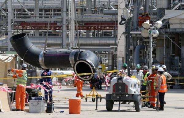 Σαουδική Αραβία: Οι πρώτες φωτογραφίες από τις πετρελαϊκές εγκαταστάσεις
