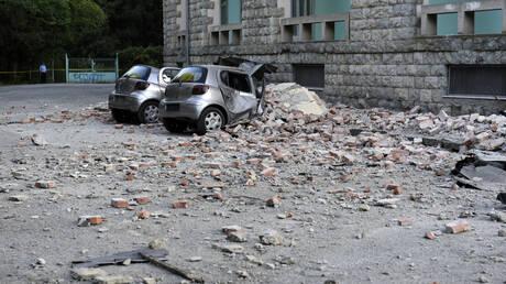 Σεισμός στην Αλβανία: Δεκάδες τραυματίες και σοβαρές ζημιές από τα 5,6 Ρίχτερ