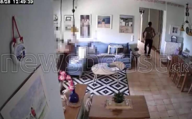 Θρασύτατοι διαρρήκτες εν δράσει σε σπίτι στον Άγιο Στέφανο σε αποκλειστικό βίντεο του newsbeast.gr