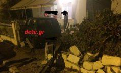 Πάτρα: Αυτοκίνητο καρφώθηκε σε σπίτι