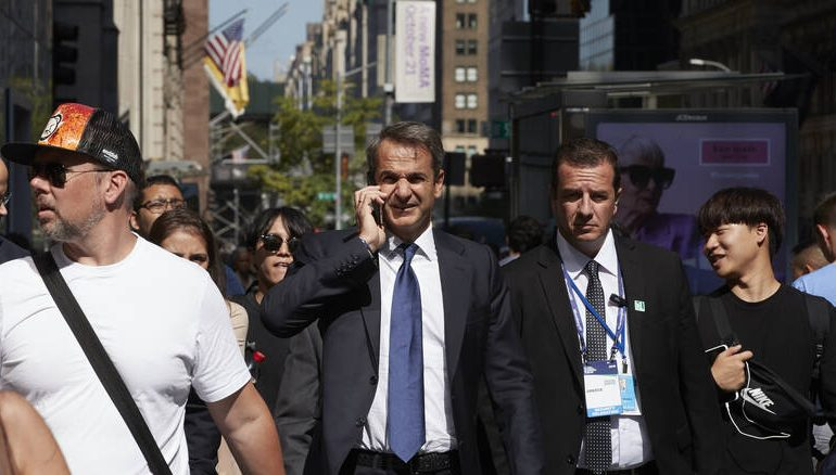 Το παρασκήνιο και ο απολογισμός των επαφών Μητσοτάκη στη Νέα Υόρκη