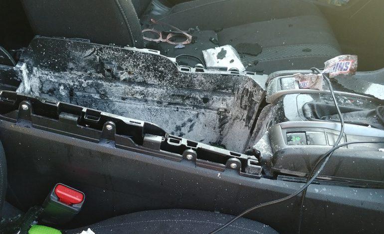 Εξερράγη σαμπουάν μέσα σε αυτοκίνητο
