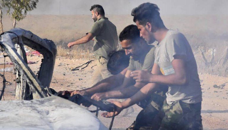 Συρία: Η Δαμασκός ανακοίνωσε ότι κατέρριψε ένα οπλισμένο drone