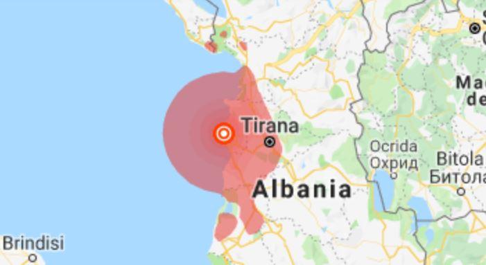 Αλβανία : έντονη μετασεισμική δραστηριότητα