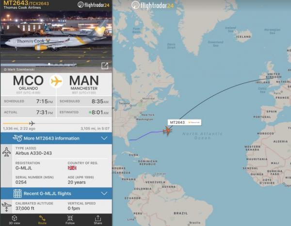 Thomas Cook: Προσγειώθηκε η τελευταία πτήση της πτωχευμένης εταιρείας