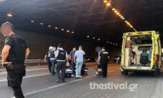 Θεσσαλονίκη: Πήδηξε από γέφυρα για να αυτοκτονήσει και έπεσε σε μοτοσικλετιστή