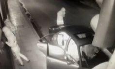 Μπουκάρουν με αυτοκίνητο και ληστεύουν διαγνωστικό κέντρο στον Πειραιά. VIDEO