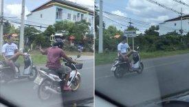 Απίστευτος μοτοσικλετιστής οδηγεί σταυροπόδι! (vid)