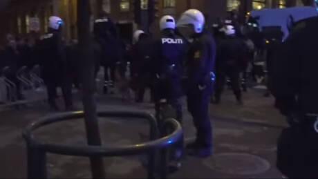 Επεισόδια στη Νορβηγία: Επτά συλλήψεις σε διαδήλωση υπέρ των Κούρδων (vids)