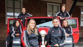 Η γυναικεία ομάδα της Juventus ανακαλύπτει τη Jeep
