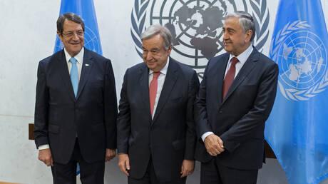 Κυπριακό: Άτυπη τριμερής συνάντηση Γκουτέρες – Αναστασιάδη – Ακιντζί στο Βερολίνο