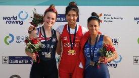 Κωπηλασία: Χάλκινο μετάλλιο για την Φίτσιου στην Κίνα