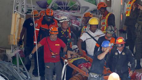 Πανικός στις Φιλιππίνες μετά από ισχυρό σεισμό: Νεκρό ένα παιδί, δεκάδες τραυματίες (vid)