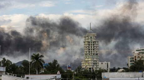 Πεδίο μάχης πόλη στο Μεξικό μετά τη σύλληψη γιου του «Ελ Τσάπο» (pics)