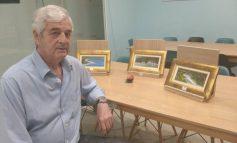 Τάκης Οικονομόπουλος. Εγκαίνια έκθεσης ζωγραφικής Παρασκευή 11 Οκτωβρίου