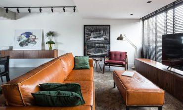 Ένα σύγχρονο διαμέρισμα με ευρωπαϊκό εσωτερικό στο Porto Alegre της Βραζιλίας