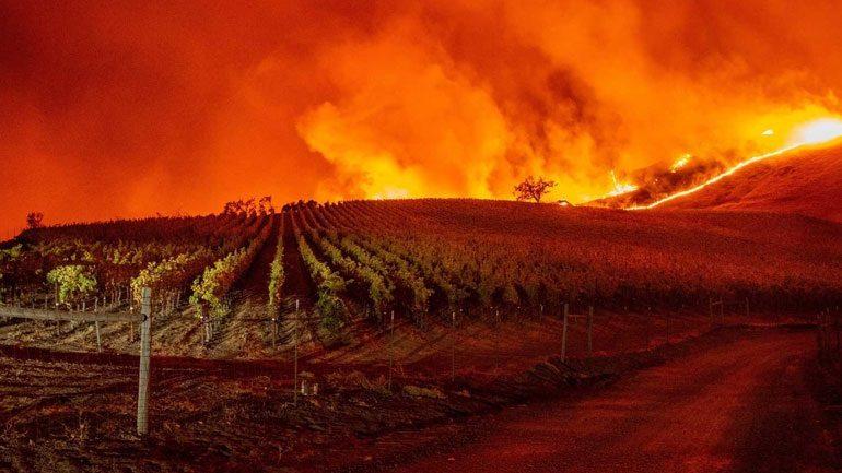 Γιγαντιαίες πυρκαγιές «κατατρώγουν» την Καλιφόρνια