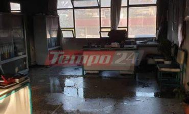Επίθεση αγνώστων με μολότοφ κατά σχολικού κτηρίου στην Πάτρα