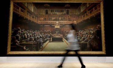 «Έσπασε» τα ταμεία ο Banksy σε δημοπρασία στον Sotheby's
