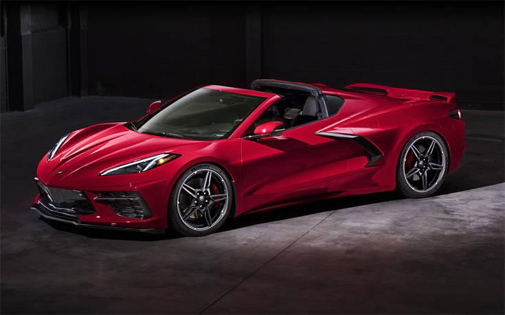 Καλωσορίστε τη νέα Corvette Stingray Convertible!