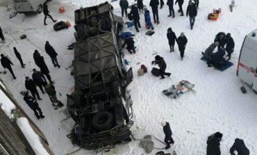 Ρωσία: Στους 19 οι νεκροί από πτώση λεωφορείου σε ποταμό