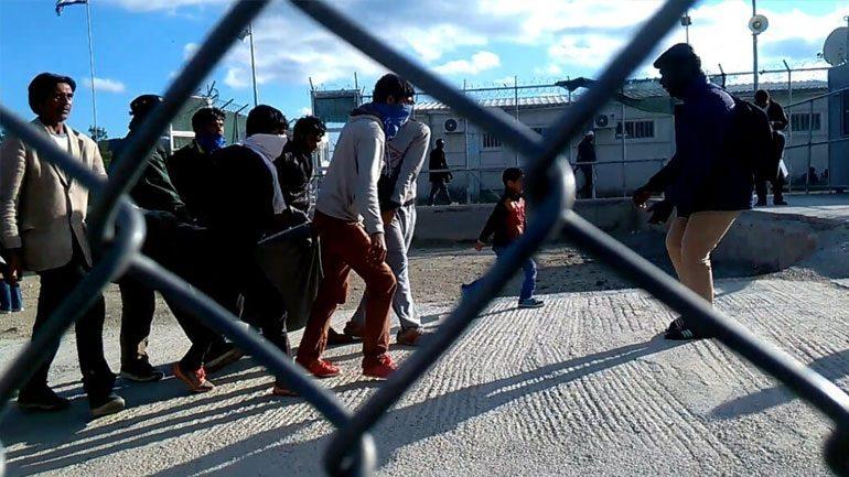 Χίος: Επεισόδια μεταξύ Αφγανών και Αράβων αιτούντων άσυλο