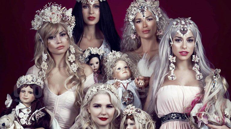 Γνωστές Ελληνίδες μεταμορφώθηκαν σε κούκλες!