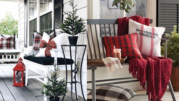 Πώς να διακοσμήσετε τους εξωτερικούς σας χώρους σας αυτά τα Χριστούγεννα για να εντυπωσιάσετε