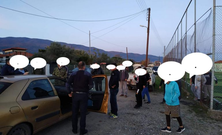 Μετανάστες έδιωξαν μαθητές από γήπεδο 5χ5
