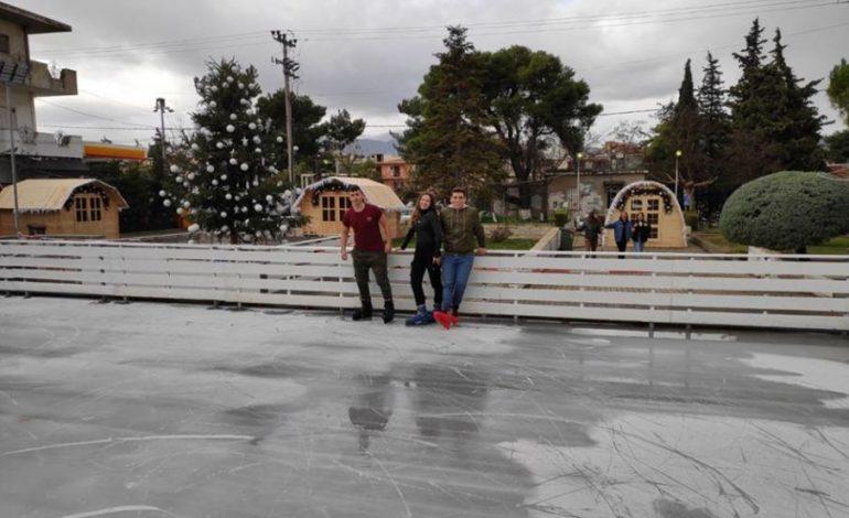 Ξεκίνησε τη λειτουργία του το Παγοδρόμιο του Δήμου Διονύσου