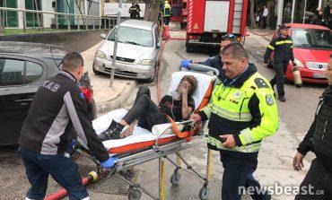 Φωτιά σε ξενοδοχείο στη Συγγρού: Βρέθηκαν μπιτόνια με εύφλεκτο υγρό, διασωληνώθηκε μία γυναίκα