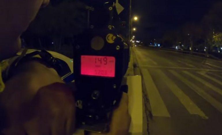 Έτρεχαν με 150. Το βίντεο της ΕΛ.ΑΣ με την επιχείρηση σε κόντρες στο RIBAS. 357 παραβάσεις