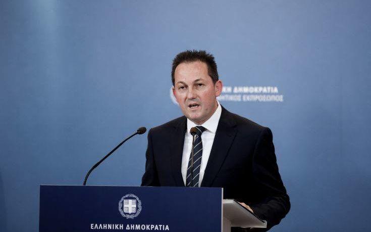 Ο κυβερνητικός εκπρόσωπος Στέλιος Πέτσας στην Κηφισιά