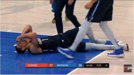Μάβερικς-Κλίπερς: Σοκ με Πάουελ τραυματίστηκε στον αχίλλειο (vid)