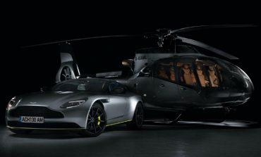 Το ελικόπτερο της Aston Martin