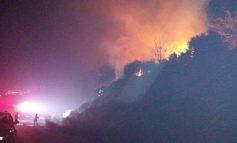 Φωτιά στο Βάστα Μεγαλόπολης το βράδυ της Πέμπτης