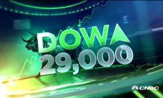 """Περιόρισε στο τέλος τα κέρδη του ο Dow Jones και """"έχασε"""" τις 29.000 μονάδες"""