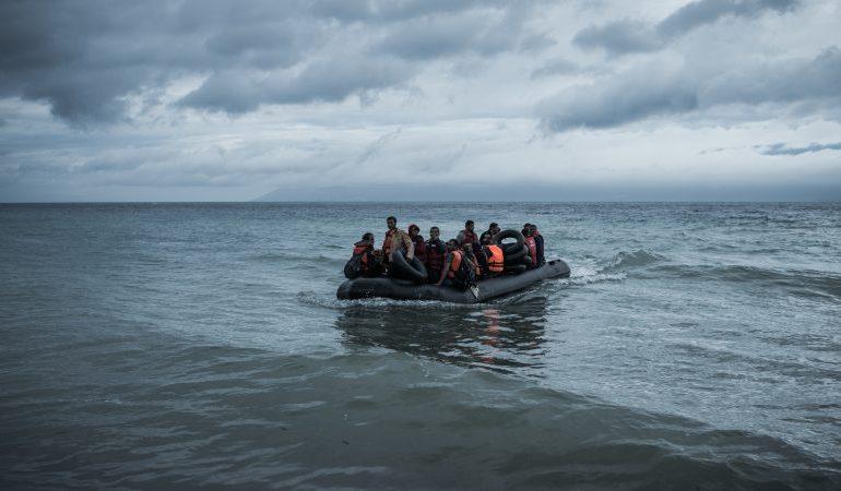 Συγκέντρωση διαμαρτυρίας για το μεταναστευτικό στο λιμάνι της Σάμου