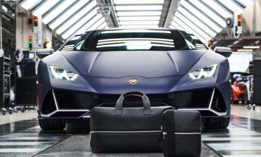 Τσάντες και αποσκευές με την υπογραφή της Lamborghini