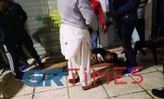Αιματηρή  συμπλοκή μεταξύ αλλοδαπών στο κέντρο της Θεσσαλονίκης
