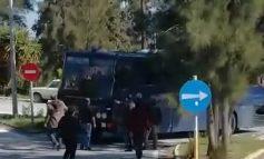 1/03/2020 Μπλόκο στα λεωφορεία με νεοεισερχόμενους μετανάστες στην Παναγιούδα