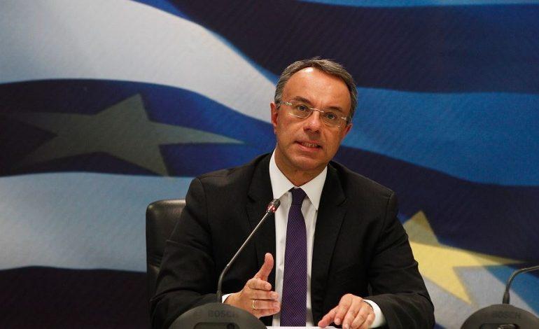Σταϊκούρας: Την άλλη εβδομάδα θα επεκταθούν σχεδόν σε όλες τις επιχειρήσεις τα μέτρα στήριξης