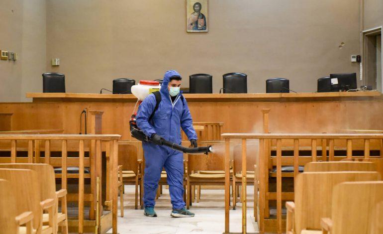 Παρατείνεται η αναστολή δικαστικών εργασιών