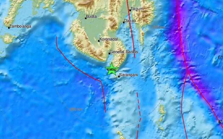 Ισχυρός σεισμός τώρα στις Φιλιππίνες Στα 6,1 Ρίχτερ η δόνηση