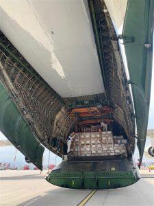Κορωνοϊός: 80 τόνοι υγειονομικού υλικού ήρθαν από την Κίνα με Antonov