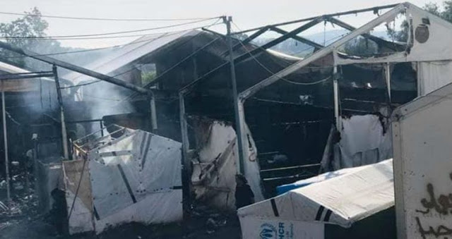 Με καταδρομικές επιθέσεις έκαψαν το ΚΥΤ της Χίου- Ανοιχτή επιστολή από τους αστυνομικούς